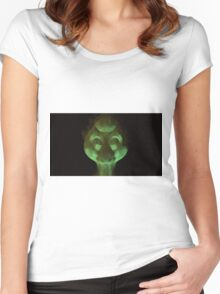 Alien Head by Raphael Terra Women's Fitted Scoop T-Shirt