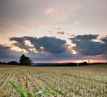 September Sunset by Gert Doerfler