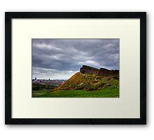 Salisbury Crags Framed Print