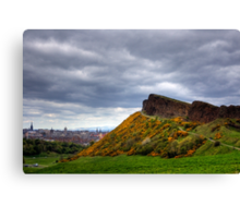 Salisbury Crags Canvas Print