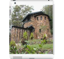 Stone House on the mountain iPad Case/Skin