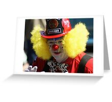 Sparks the Clown Greeting Card