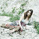 On the rock by Etienne RUGGERI Artwork eRAW
