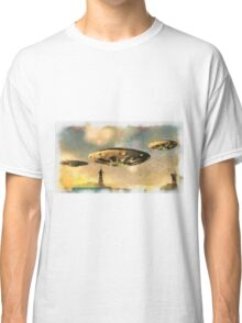 UFO Invasion 2 by Raphael Terra Classic T-Shirt