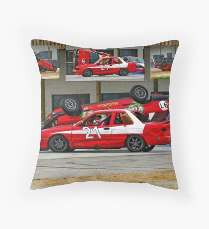 Flipping action! Throw Pillow