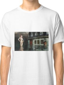 Nude in Water by Mary Bassett Classic T-Shirt