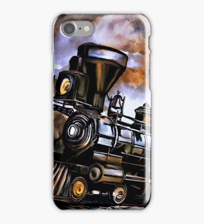 Old steam engine  iPhone Case/Skin