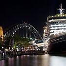 Maiden Voyage Queen Victoria by clydeessex