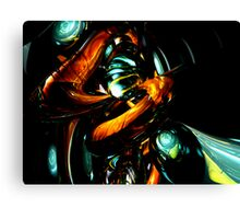 Vivid Shadows Abstract Canvas Print