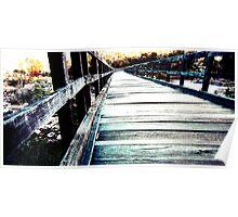 Bridge - Bells Rapids  Poster