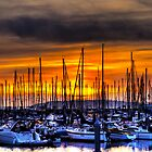 Marina Sunset by Brad Granger