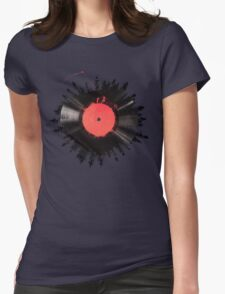 The Vinyl of my life Womens Fitted T-Shirt