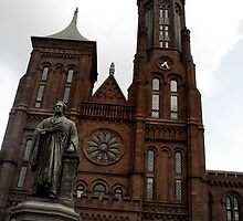 Smithsonian Castle by Marmadas