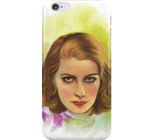 Greta iPhone Case/Skin