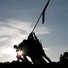 Iwo Jima Memorial by Marmadas