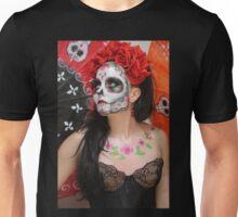 dios des los muertos- sugar skulls 12 Unisex T-Shirt
