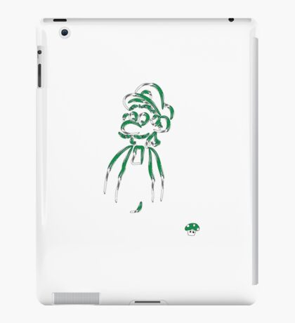 1up Luigi iPad Case/Skin