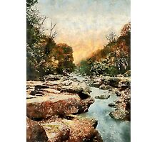 The Strid, Bolton Abbey, England 19th century Photographic Print