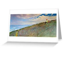 Park Bench Foreshore - Hallett Cove, SA Greeting Card