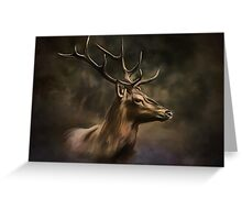 Deer. Greeting Card