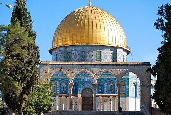 The Dome of the Rock... by Carol Clifford