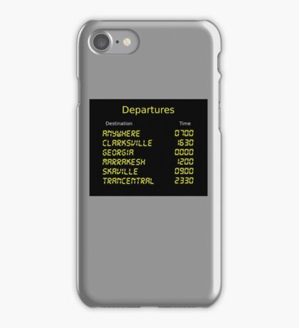 Song Trains iPhone Case/Skin