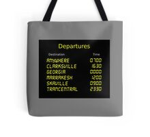 Song Trains Tote Bag