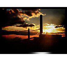 electrik sunset .... Photographic Print