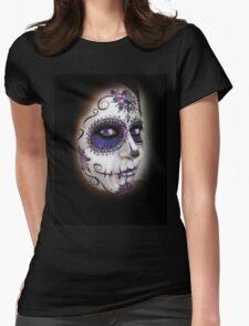 dia des los muertos- sugar skulls 8 Womens Fitted T-Shirt