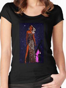 Dancing Queen Women's Fitted Scoop T-Shirt
