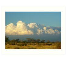 Mnt Kilimanjaro - Tanzania Art Print