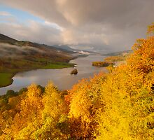 Queen's View, Loch Tummel, Perthshire, Scotland by James Paul