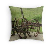 Antique Corn Planter Throw Pillow