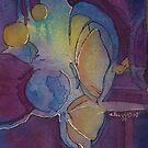 Butterflies and midnight by Ellen Keagy
