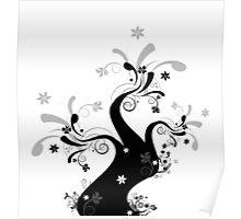 Beautiful art tree Poster