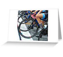 Leg Sweat  Greeting Card