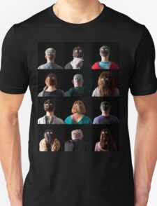 Eyes In The Backs Of Their Heads Unisex T-Shirt
