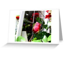 The Cottage Window Greeting Card