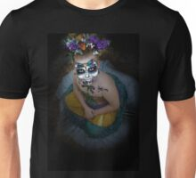 dia des los muertos- sugar skulls 4 Unisex T-Shirt