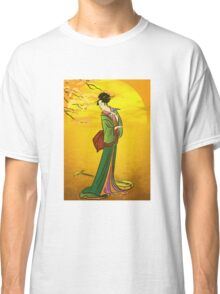 Beautiful Japanese girl Classic T-Shirt