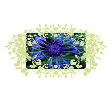 Floral Art Nouveau Photographic Print