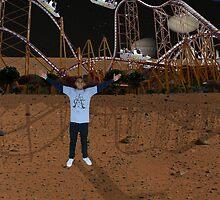 Roller coaster Mars by Ryan  Wasan
