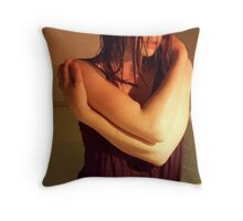 "she asked: ""exactly, tell me-- what is love, but breathing life alone?"" Throw Pillow"