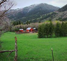 """Storybook Farm"" ~ Liberty, Utah by Jan  Tribe"