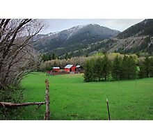"""Storybook Farm"" ~ Liberty, Utah Photographic Print"