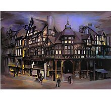 The cross and Rrows,Chester England Photographic Print