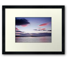 Fishing The Tide At Spey Bay Framed Print