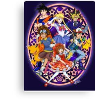 Anime For The 90s Kid Canvas Print