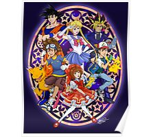 Anime For The 90s Kid Poster