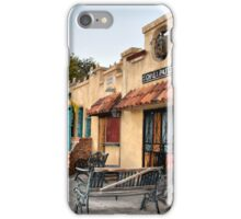 A Conversation In Old Town iPhone Case/Skin